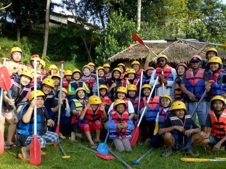 Raftingpro Keluarga Dari Medan - May 2018 Rafting Bogor Murah